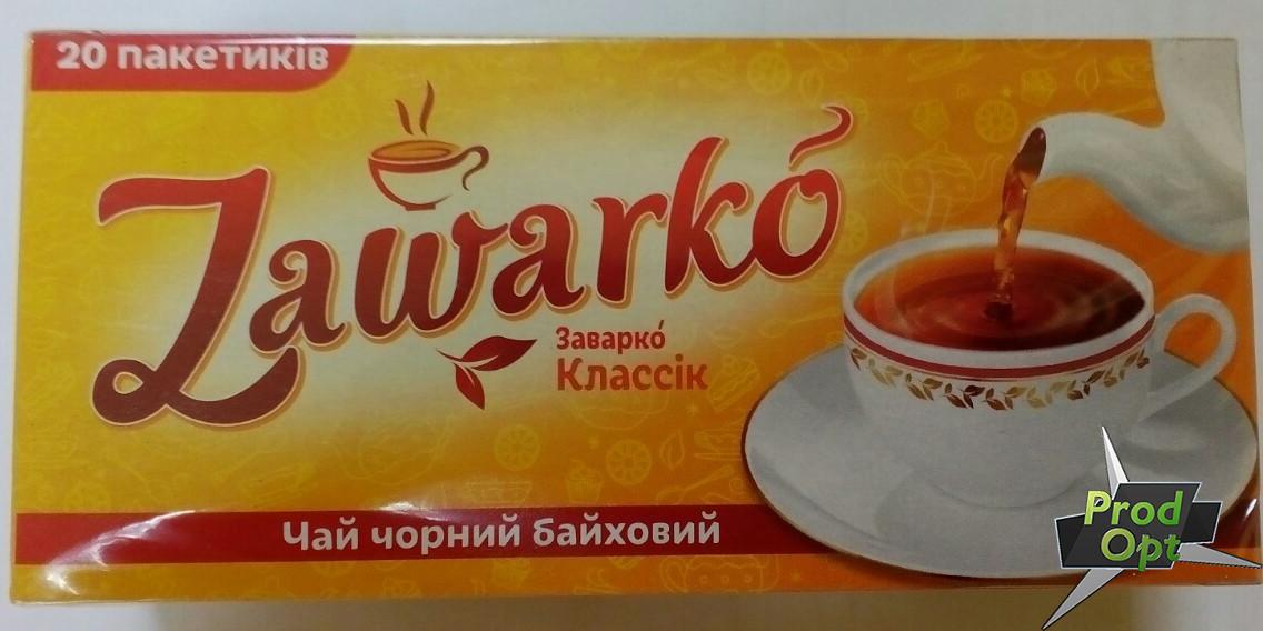 Чай чорний дрібний Заварко 20 пакетів