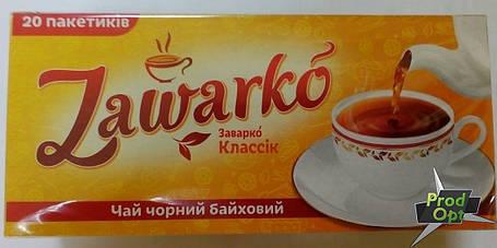 Чай чорний дрібний Заварко 20 пакетів, фото 2