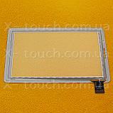 Тачскрин, сенсор  FPC-0760A0-V01 белый для планшета, фото 2