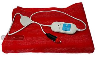 Автомобильное одеяло с подогревом, 2-х режимное, размер: 50см ⟷150см