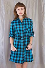573d3110b68 Модная стильная женская рубашка-платье в клетку.  продажа