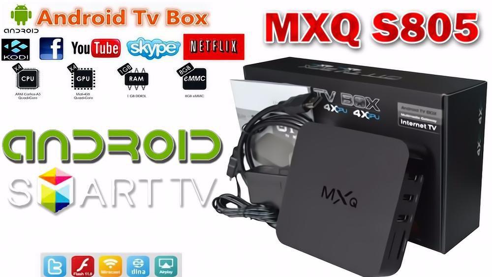 Android Smart TV Box MXQ 1/8GB QUAD CORE