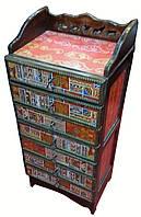 Комод деревянный Тибетский орнамент