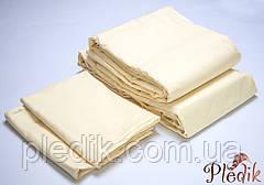 Комплект постельного белья полуторный LOTUS Сатин страйп ваниль