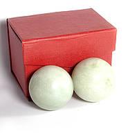 Шары массажные каменные в футляре