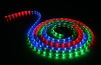 Разноцветная светодиодная лента 5050 RGB 10 метров (силиконовое покрытие)