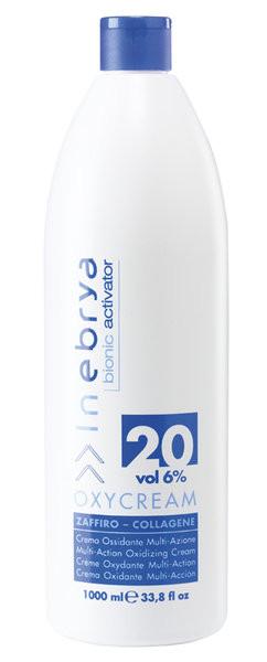 INEBRYA OXYCREAM BIONIC Крем-окислитель для волос 6% (20 vol) 1000 мл.