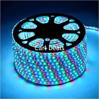 Светодиодная лента разноцветная 5050 RGB 100 метров (силиконовое покрытие)