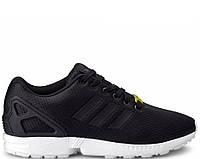 Мужские кужские кроссовки Adidas ZX Flux чёрные