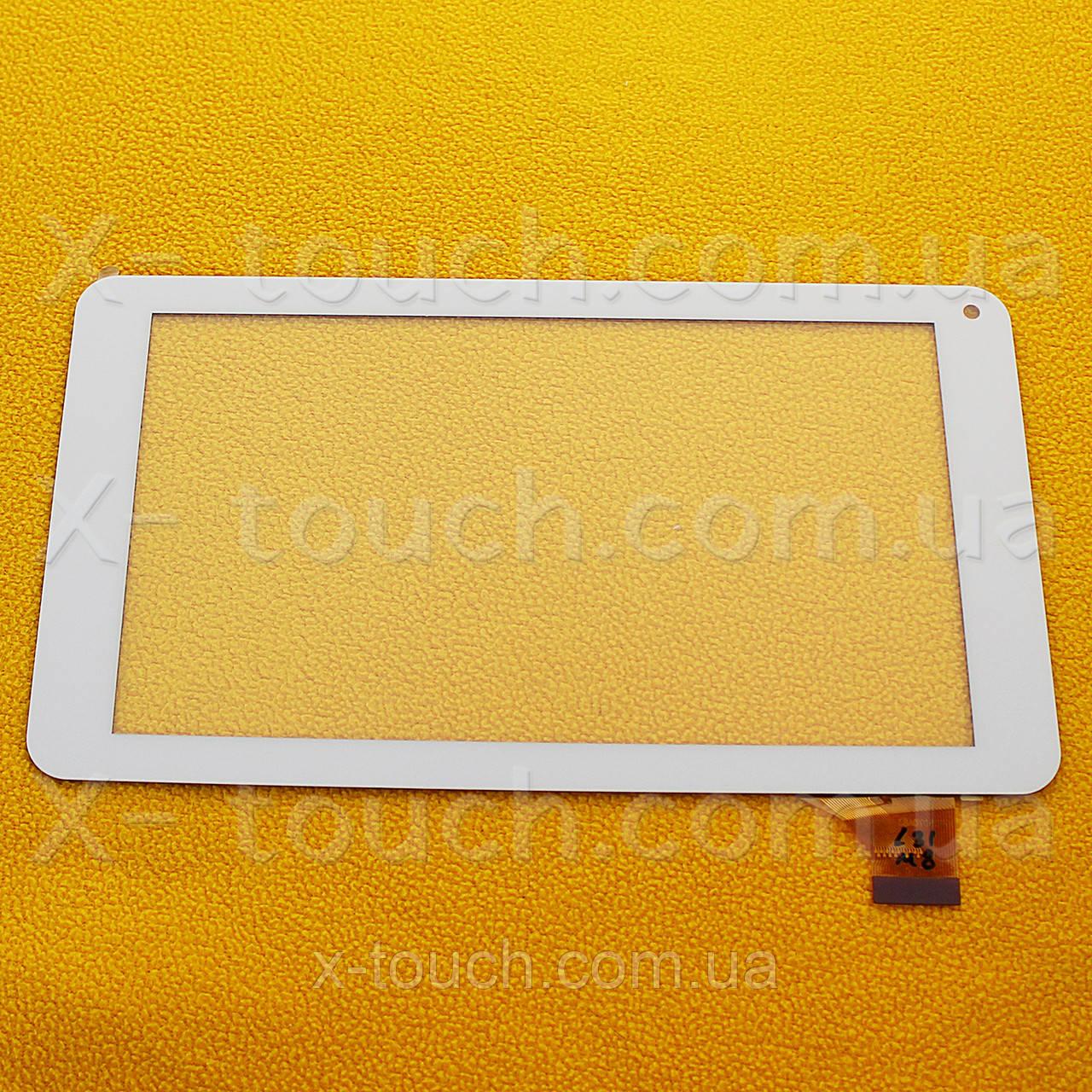 Тачскрин, сенсор  FPC-TP070215(708B)-00 белый для планшета