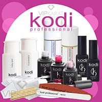 Стартовый набор для покрытия ногтей гель лаком Коди / шеллак Kodi Professional