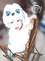 Дитячий Новорічний костюм Зайчик