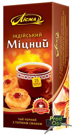 Чай Лісма Міцний 25 пакетів, фото 2