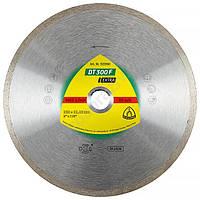 Алмазный отрезной круг Klingspor DT300F 230 x 1.9 x 22.23 мм 1.9 x 7 замкнутый ободок 325360 Клингспор
