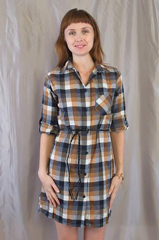 6e8f397b7ae9a17 Модная стильная женская рубашка-платье в клетку.: продажа, цена в ...