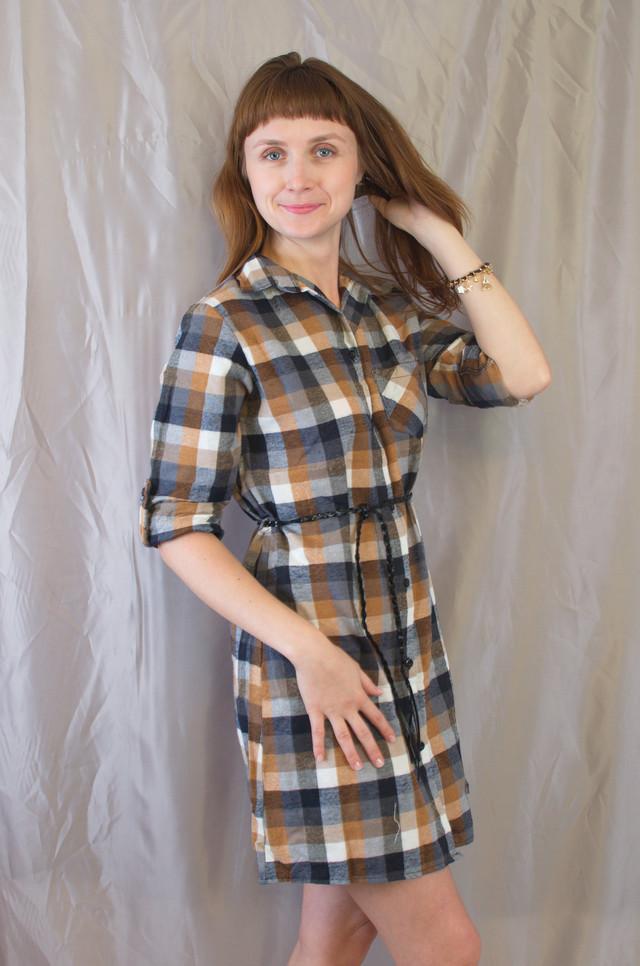 2ec7d334eb248f2 Эта рубашка-платье прекрасно будет сочетаться с лосинами, с брюками и с  джинсами. Универсальная модель, которую можно одеть на все случаи жизни!