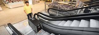 Аппараты для очистки лестниц, эскалаторов