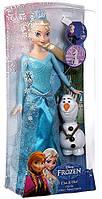 Кукла Эльза и Олаф. Disney® Frozen Princess Elsa and Olaf Doll Gift Set