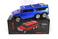 Портативная колонка автомобиль SPS Hummer Big, 0,1-18 кГц, FM-радио, USB 2.0, слот для карт SD, LCD-экран