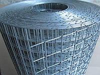 Сварная оцинкованная сетка для клеток. Ячейка: 25х25мм., Проволока: 1,4мм, Ширина: 1,5м.