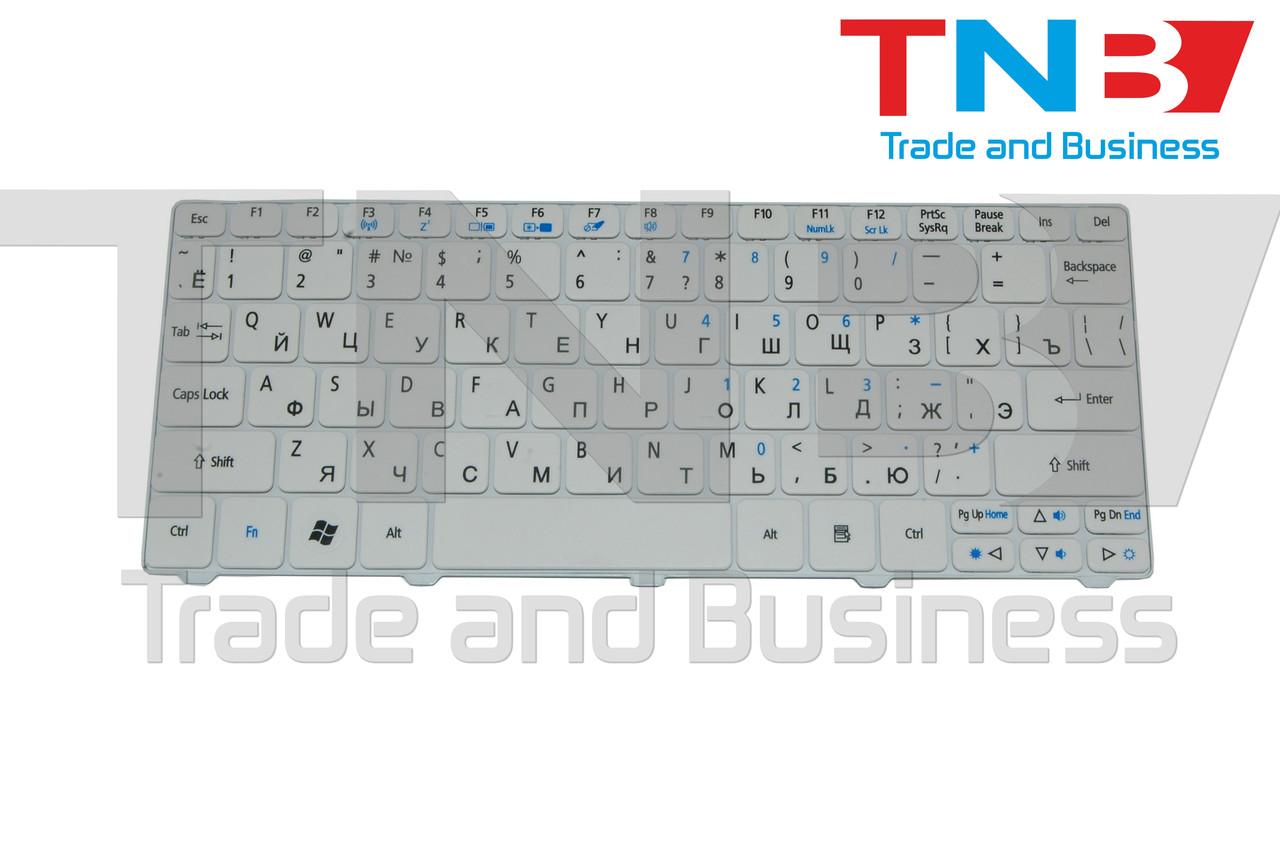Клавиатура Acer eMachines eM350 оригинал белая
