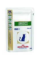 Royal Canin Obesity Management S/O Feline 100 гр*12шт -паучи для кошек при ожирении
