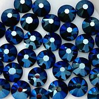 Стразы ДМС Metallic Blue ss4(1,6мм).Цена за 100шт.