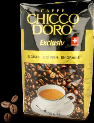 Кофе зерновой Chicco D'oro Exclusiv 500г