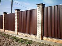Забор из профнастила «Дачник»