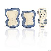 Защита для роликов детская AMZ-150 голубая