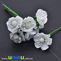 Цветение яблони, 30 мм, Белое, 1 шт (DIF-018011)