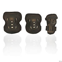 Защита для роликов детская AMZ-150 черная