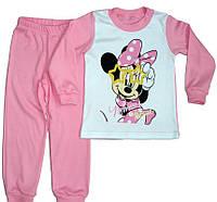 """Пижама для девочки """"Минни Маус"""", розовая"""