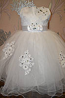 Нарядное пышное платье 6-8 лет