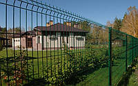 Забор из сварных панелей 1730х2500*3 с полимерным покрытием