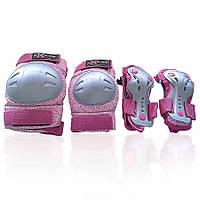 Защита для роликов детская AMZ-300 new розовая M