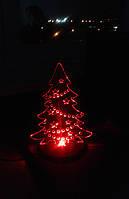 Новогодняя елка из оргстекла с подстветкой