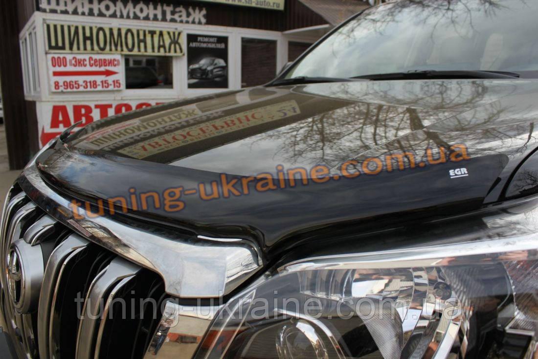 Дефлектор капота (мухобойка) EGR на Toyota Avensis 2003-08 wagon 2005 - ООО Tuning Avto в Харькове