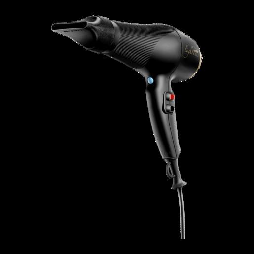 Фен для волос Ermila Lightness Black Satin 4326-0040, с турмалином