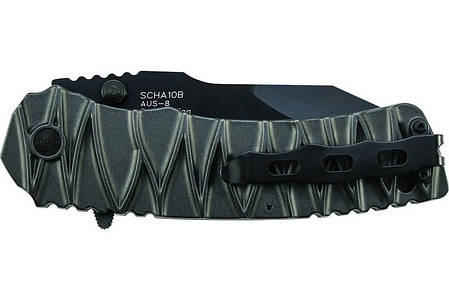 Нож выживальщика складной Schrade M.A.G.I.C. Dual Action - Serrated Clip Point SCHA10BS, фото 2