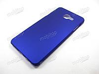 Пластиковый чехол Samsung A710F Galaxy A7 2016 (синий), фото 1