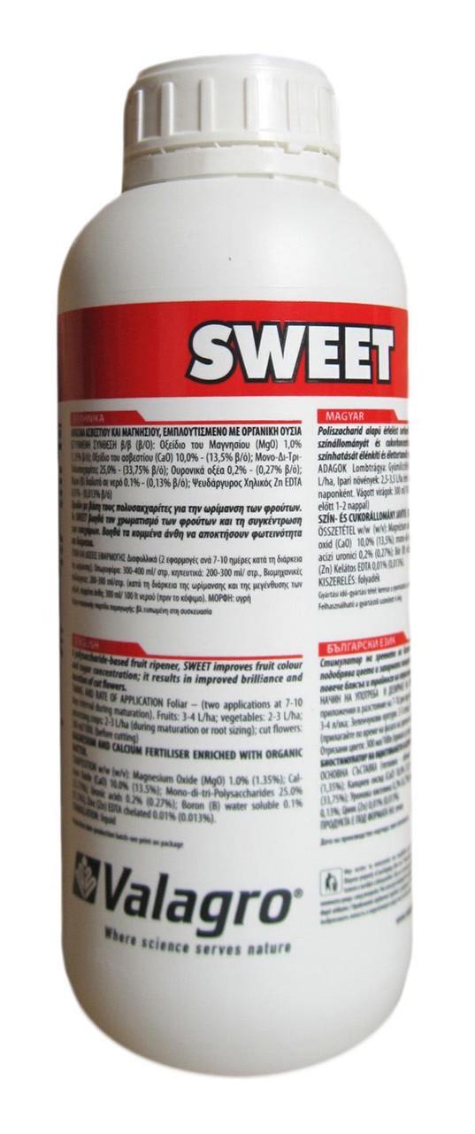 Биостимулятор Sweet / Свит (1 л) — стимулирует интенсивность окраски плодов и цветов