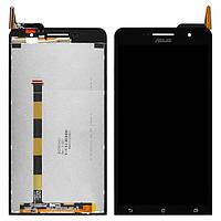 Дисплей (экран) для Asus ZenFone 6 (A600CG/A601CG) + с сенсором (тачскрином) Black
