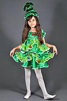 Детский новогодний костюм Елочка на девочку 5-11 лет