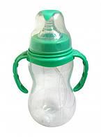 Поильник пластмассовый с соской и трубочкой, фото 1