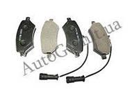 Колодки тормозные передние PREMIUM, CHERY ELARA, A21-6GN3501080BA