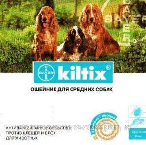 Килтикс Bayer (Германия) 48 см. ошейник для собак против блох и клещей, фото 2