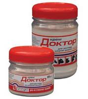 Крем «Доктор» противовоспалительный с декаметоксином для вымени (100 мл)