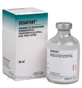 Дексафорт 50 мл Интервет (Нидерланды) глюкокортикоидный препарат для системного применения., фото 2