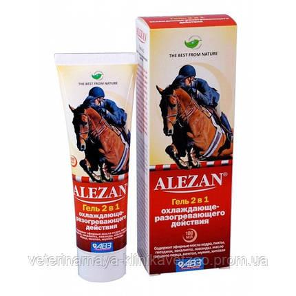 Алезан (Alezan) 100 мл гель 2 в 1 охлаждающе-разогревающего действия., фото 2